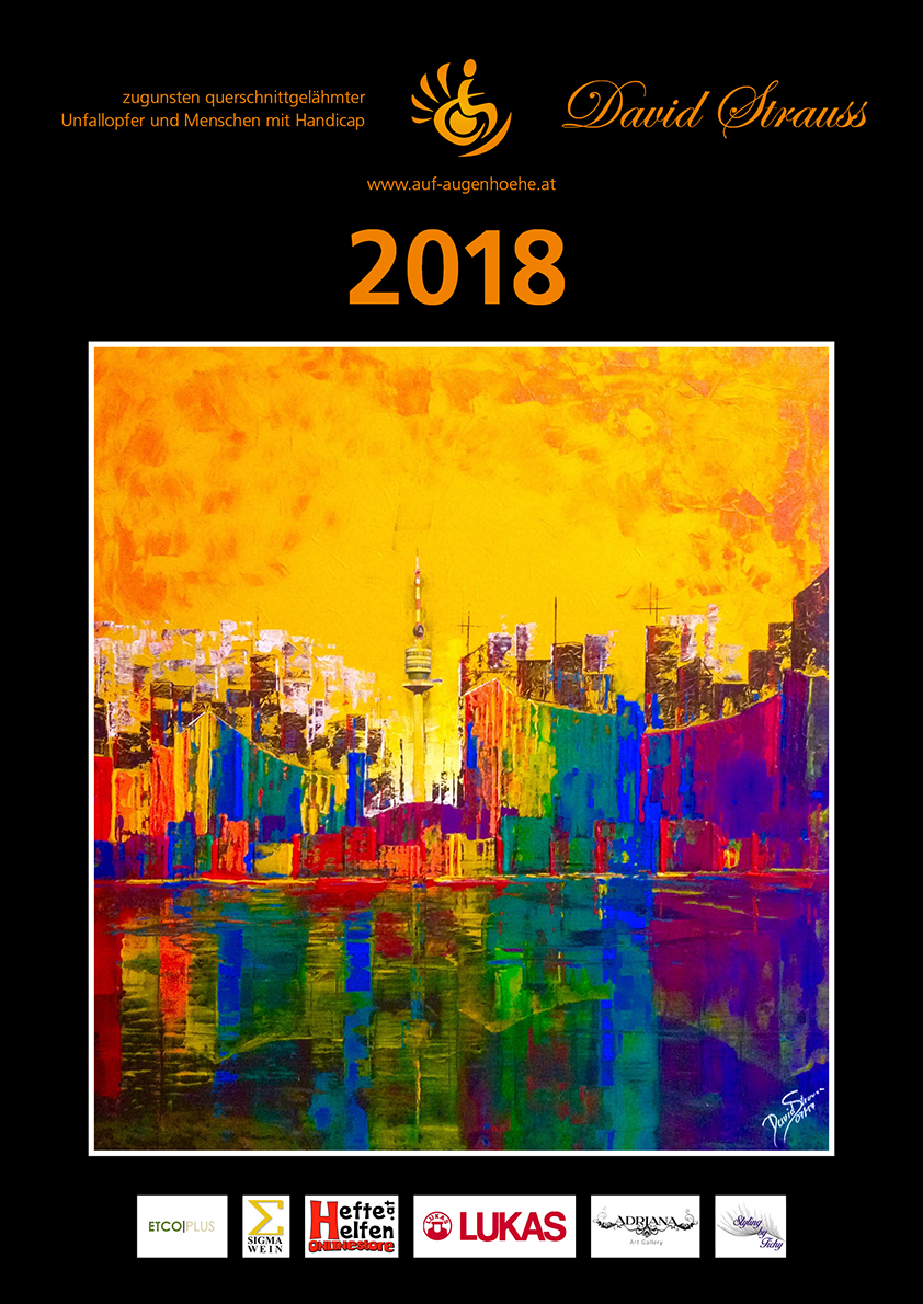Kalendar Cover 2018 David Strauss